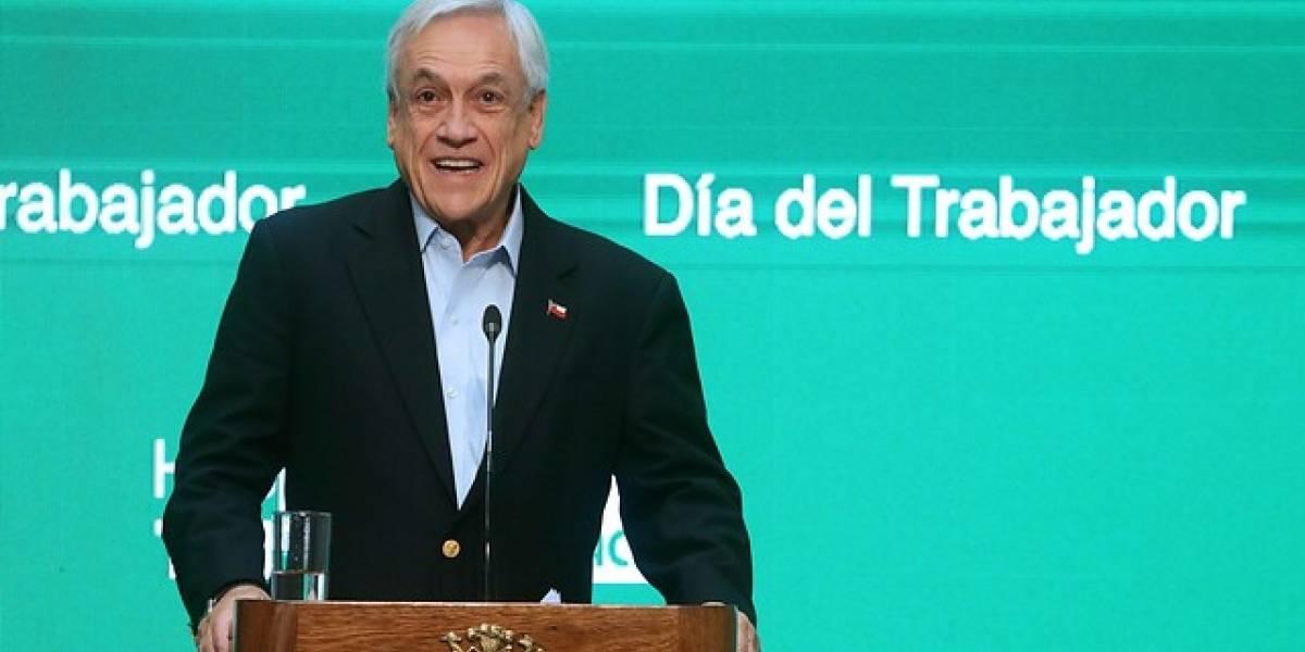 Piñera asegura que ha creado 164 mil puestos de trabajo estables durante el último año