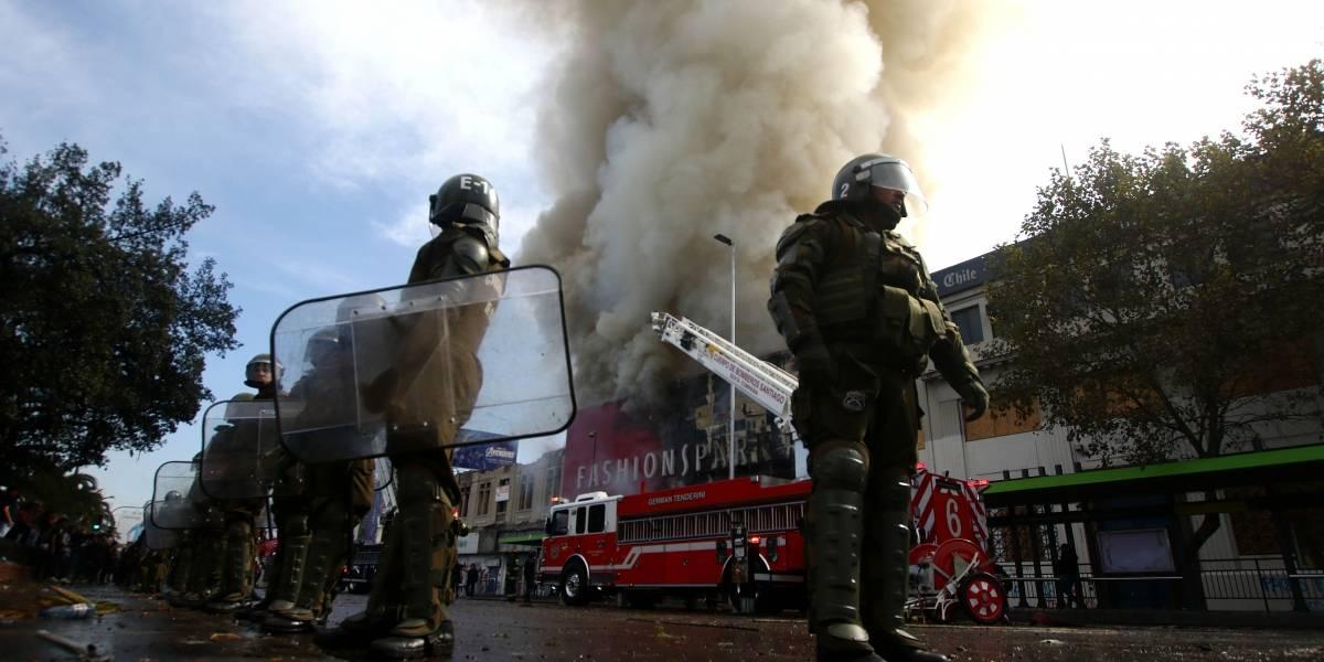 Central Clasista de Trabajadores y Trabajadoras niega responsabilidad en incendio de tienda y acusa provocación