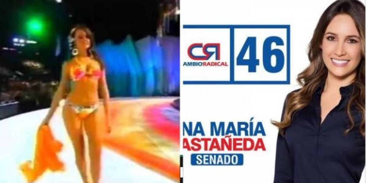 Ella es Ana María Castañeda la exreina que no votó por las objeciones de la JEP