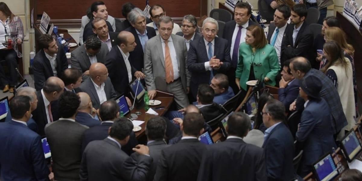 Fracasó nuevamente el intento para votar objeciones a la JEP