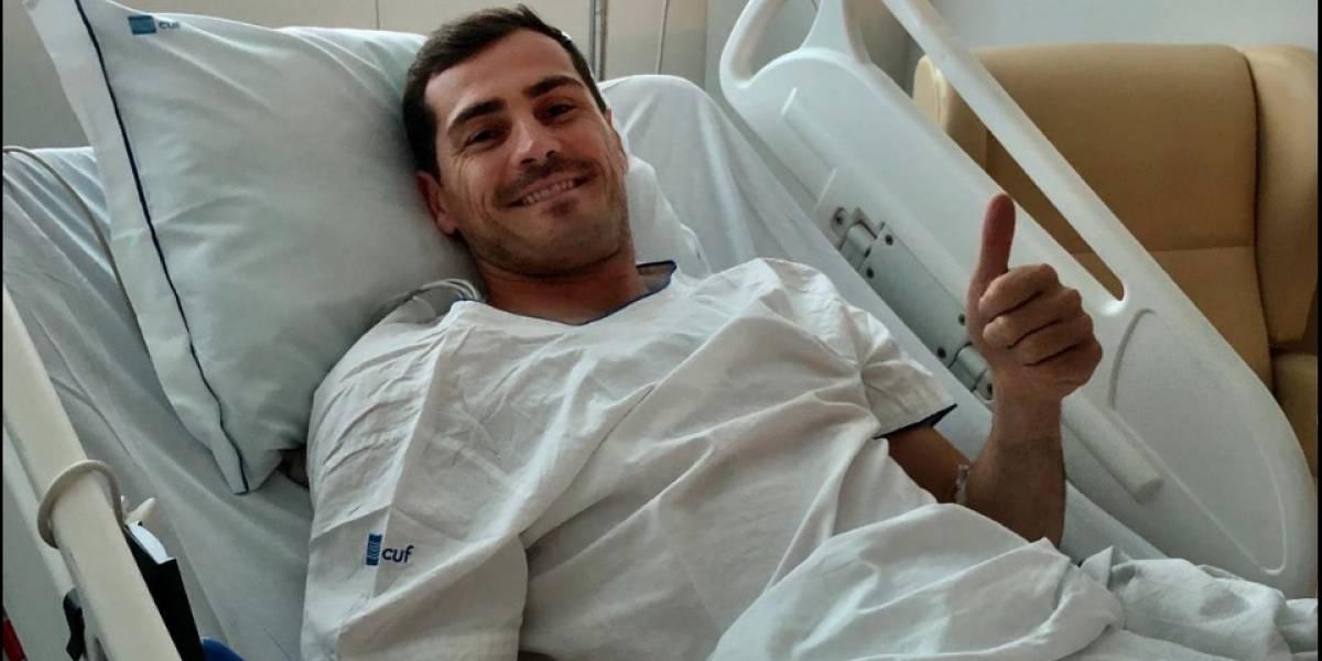 Emotivo mensaje de Iker Casillas tras sufrir un infarto