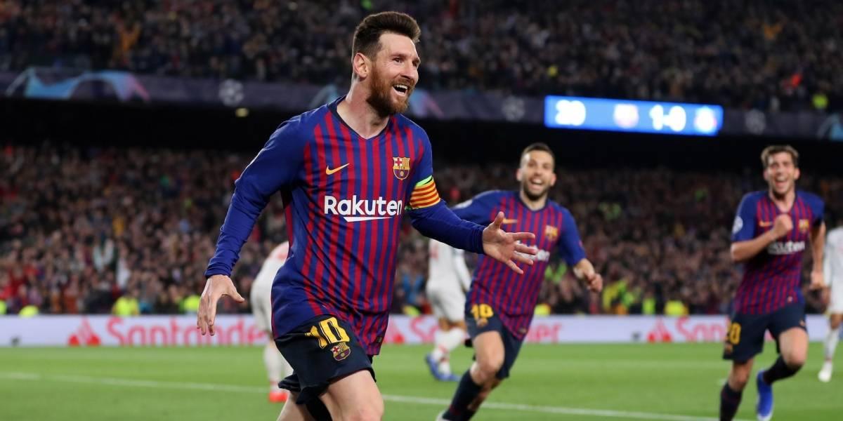 ¡Rendidos a sus pies! Lionel Messi marcó dos espectaculares golazos en una fecha especial para él