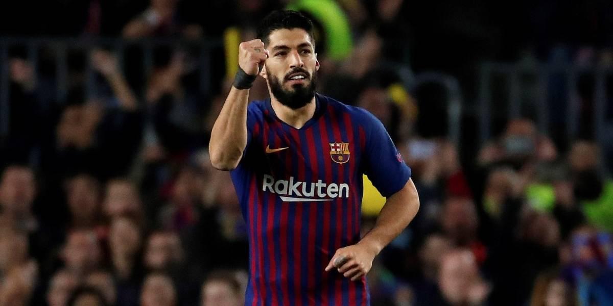 ¡La 'ley del ex' se cumplió! Luis Suárez puso en ventaja al Barcelona sobre Liverpool