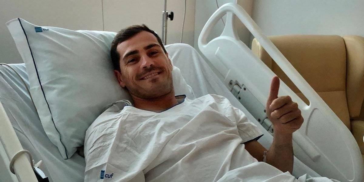Desde el hospital: Las primeras palabras de Casillas tras sufrir un infarto