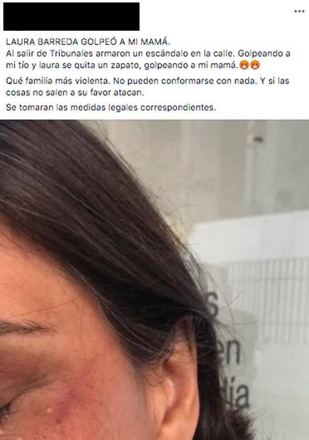 Denuncia por la agresión de tía de Cristina Siekavizza