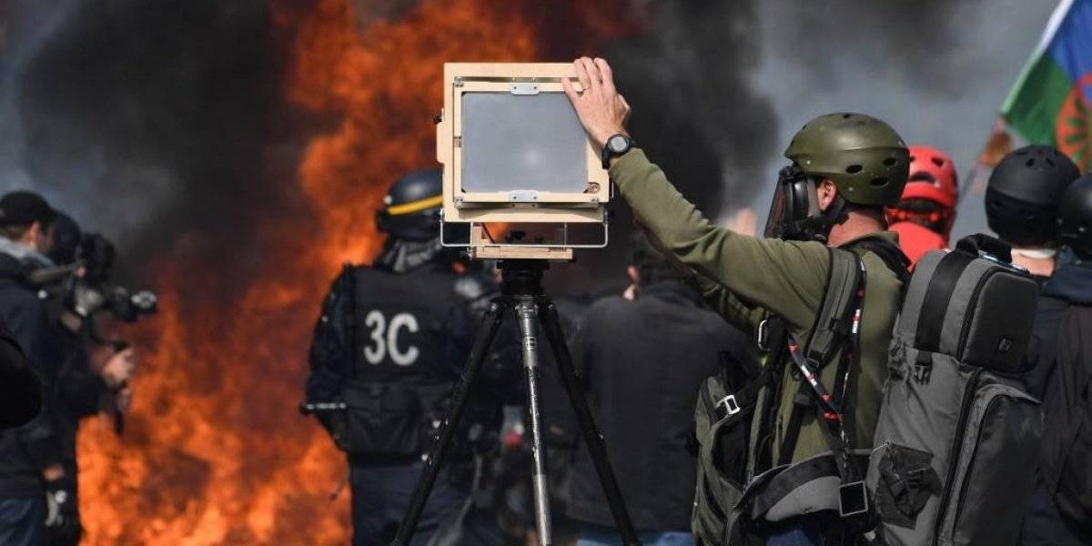 """FOTOS. Violentos enfrentamientos durante protestas de """"chalecos amarillos"""" en París"""