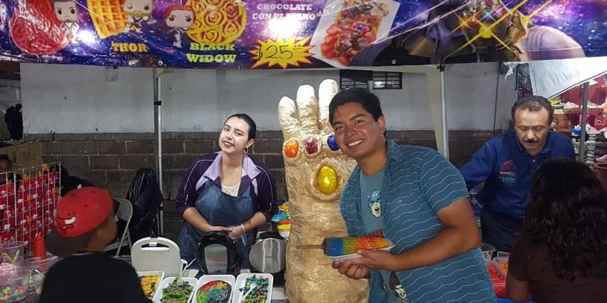 Thanos llega a San Luis Potosí y crea los 'Elothanos'