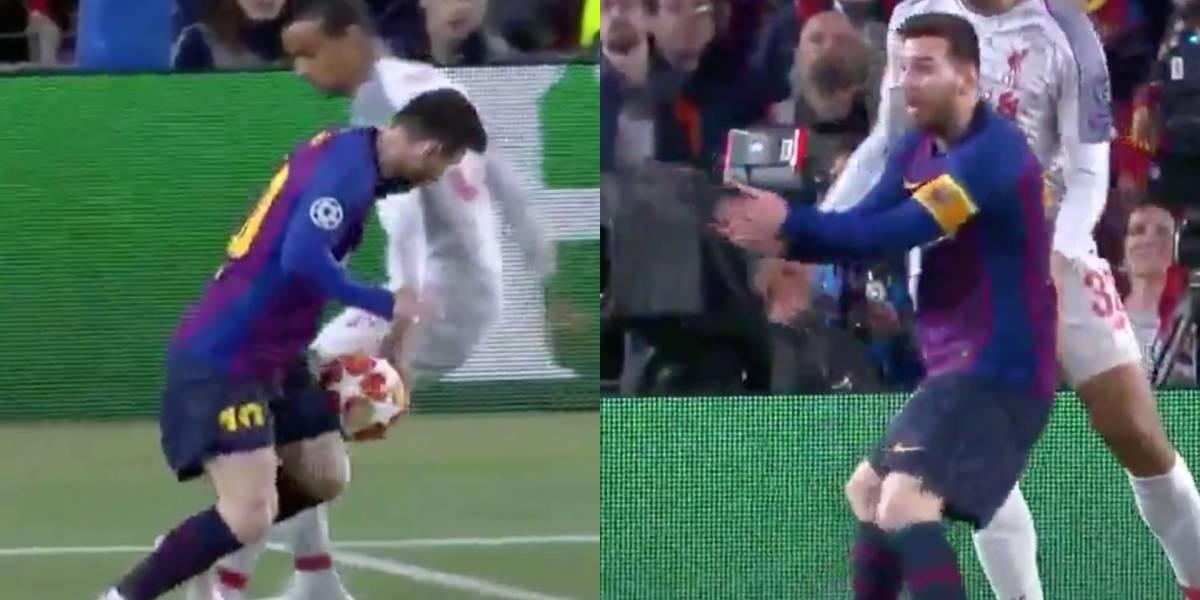 ¡Polémica en el Camp Nou! El penal de la discordia que no le sancionaron al Barcelona en Champions