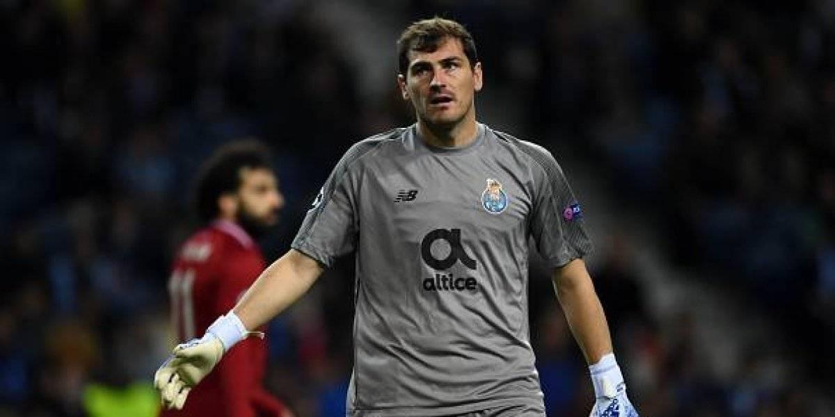 Iker Casillas sufre infarto y es trasladado de urgencia a hospital en Portugal