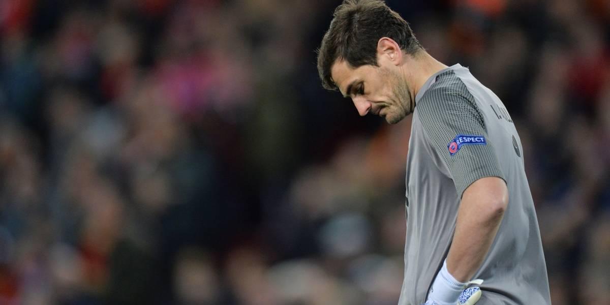Iker Casillas fue ingresado al hospital tras un infarto, se encuentra estable
