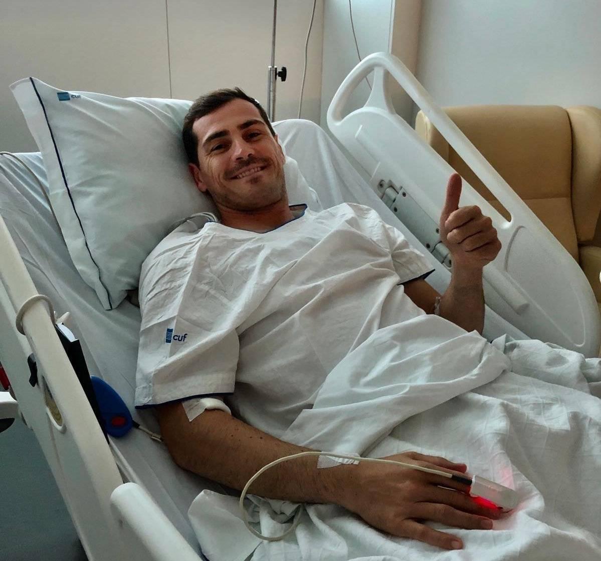 Casillas aún no puede salir del hospital |GETTY @IkerCasillas
