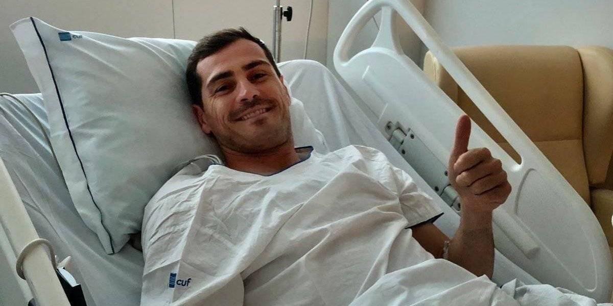 """""""Todo controlado por aquí"""": Iker Casillas"""