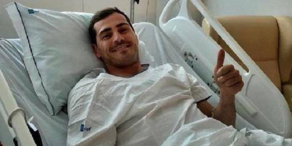 Iker Casillas fuera de peligro tras sufrir infarto