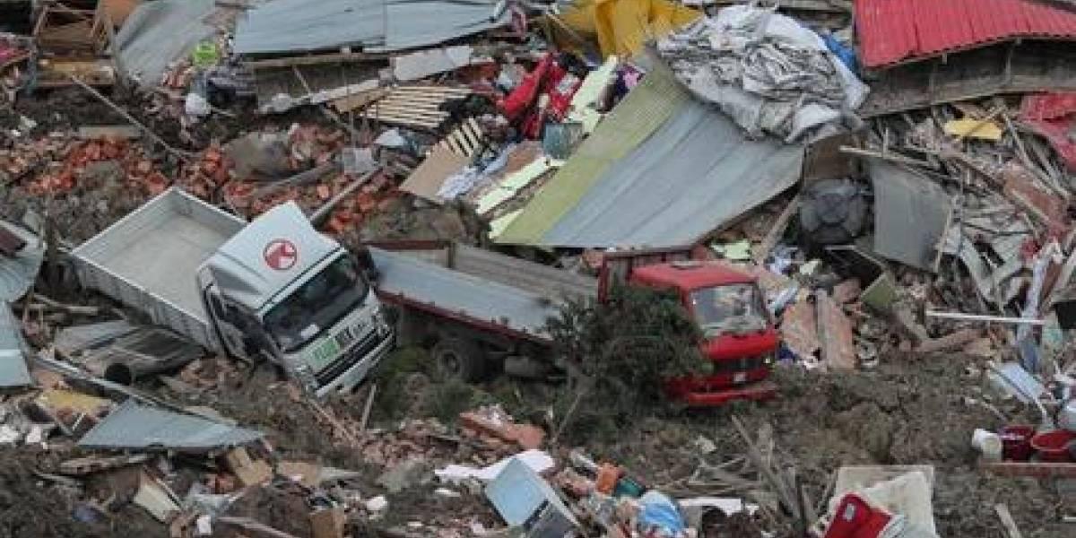 Desastre en La Paz: 66 viviendas sepultadas