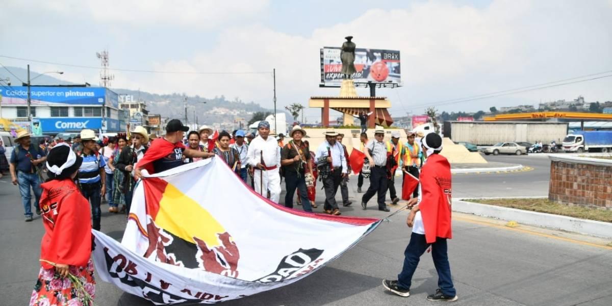 Marcha de la dignidad, por la vida y la justicia, se dirige a la capital