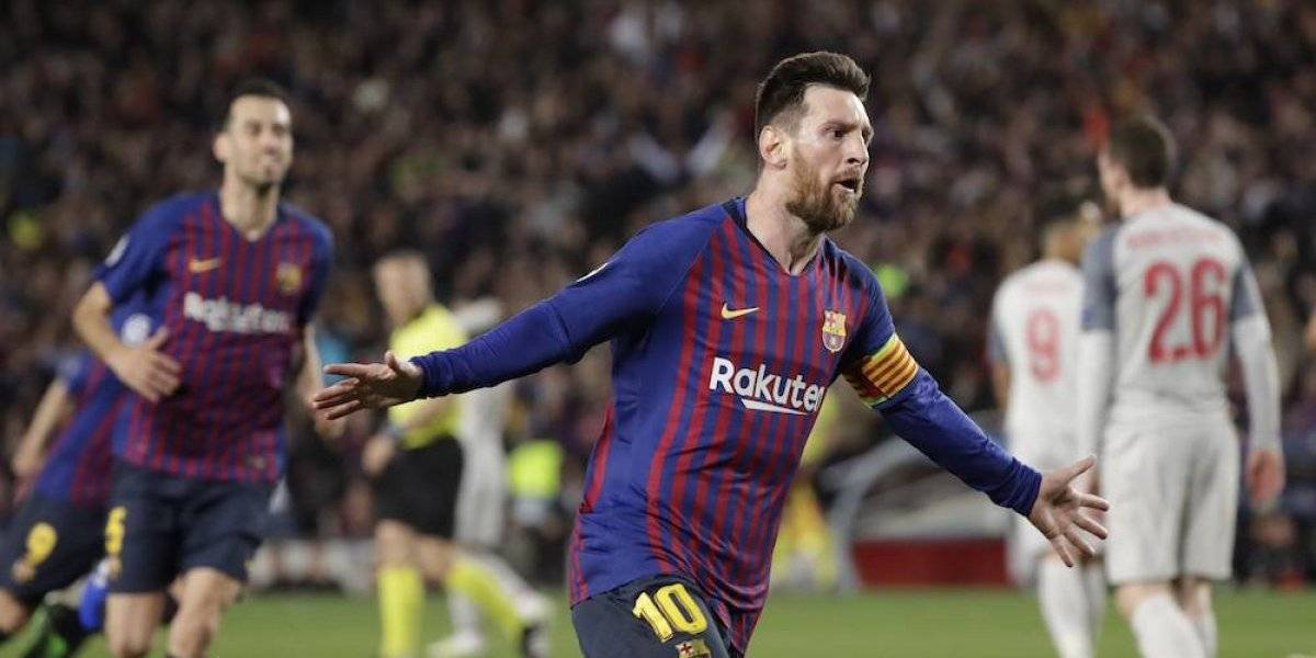 Messi encamina al Barcelona a la final de la Champions League