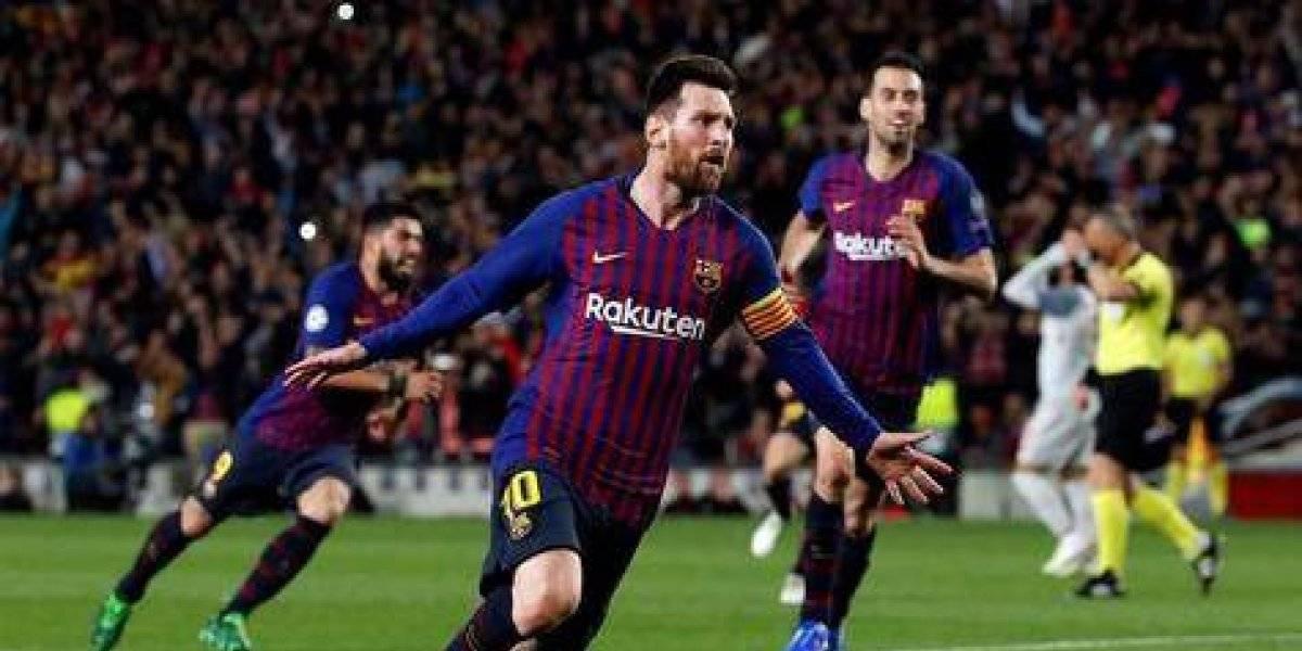 Dos de Messi y uno de Suárez adelantan al Barcelona: 3-0