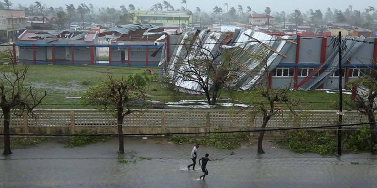 Ciclone mata 30 pessoas em Moçambique e deixa rastro de destruição