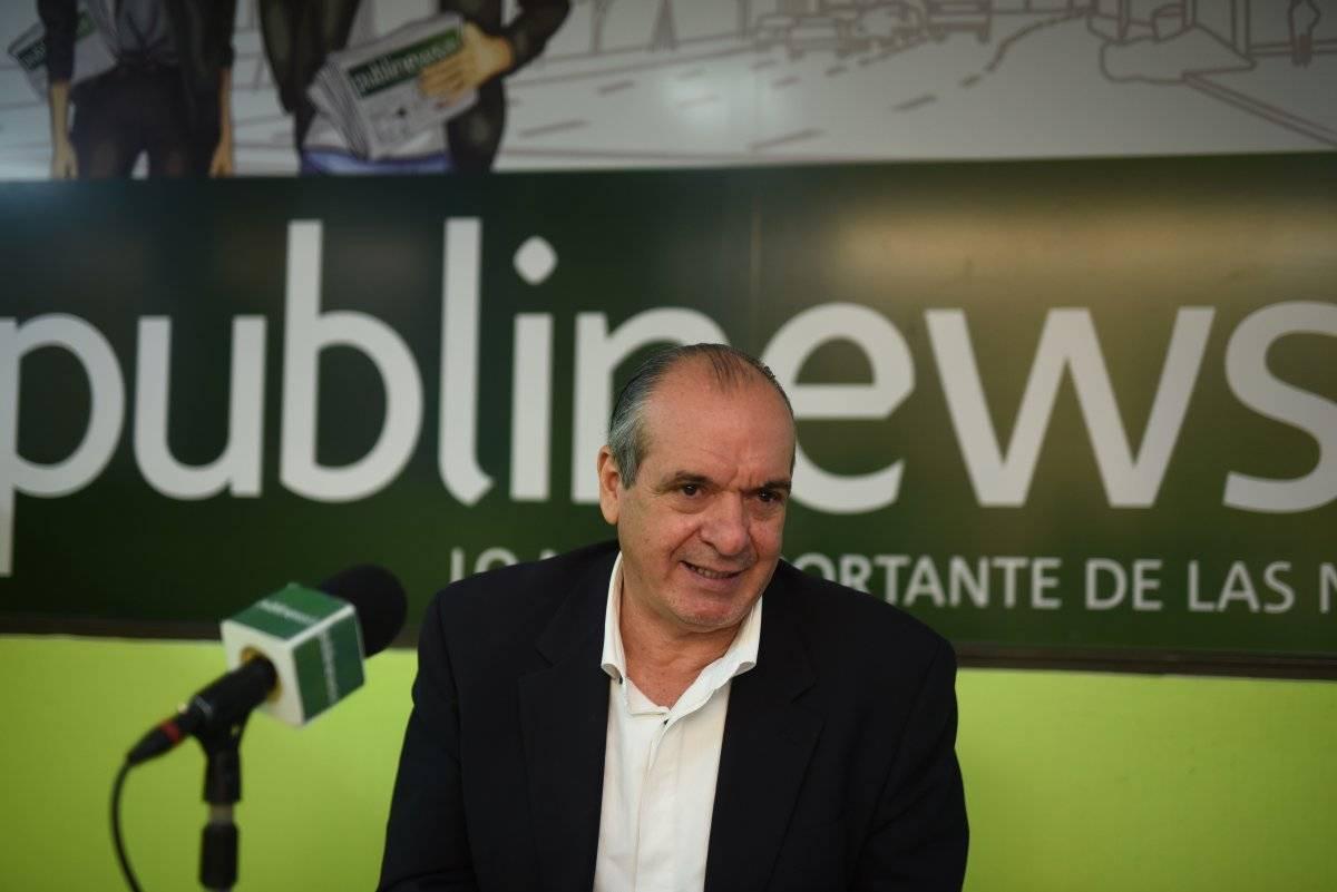 Pablo Duarte, presidenciable del Partido Unionista. Foto: Edwin Bercián