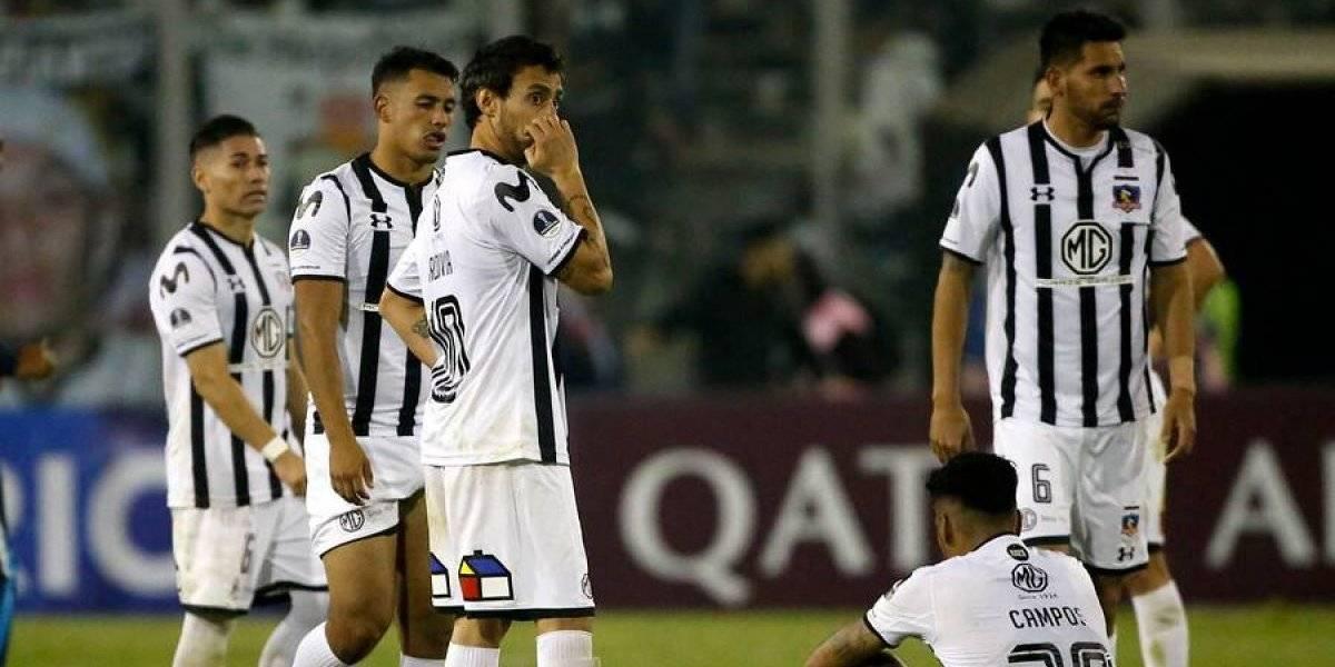 Parecía un funeral: así reaccionó el camarín de Colo Colo tras el rotundo fracaso en la Copa Sudamericana