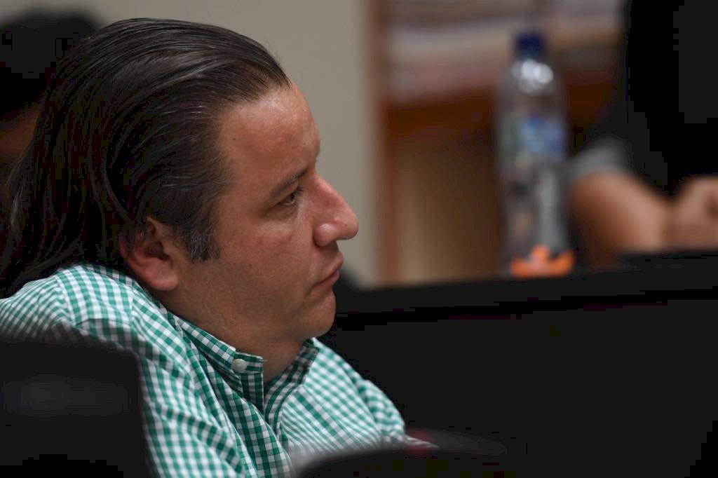 Roberto Barreda, acusado por el caso Siekavizza. Foto: Omar Solís