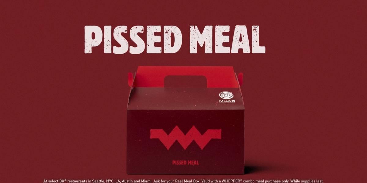 Burger King provoca McDonald's e anuncia linha de lanches 'infelizes'