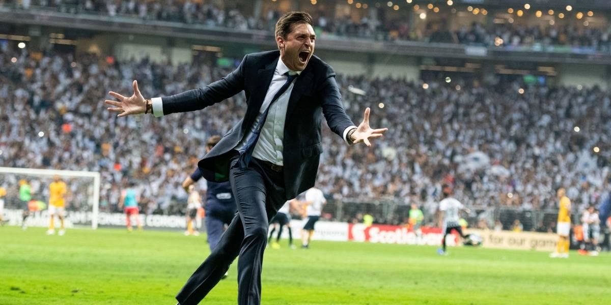 VIDEO: Diego Alonso 'enloquece' tras conquistar el título de Concacaf
