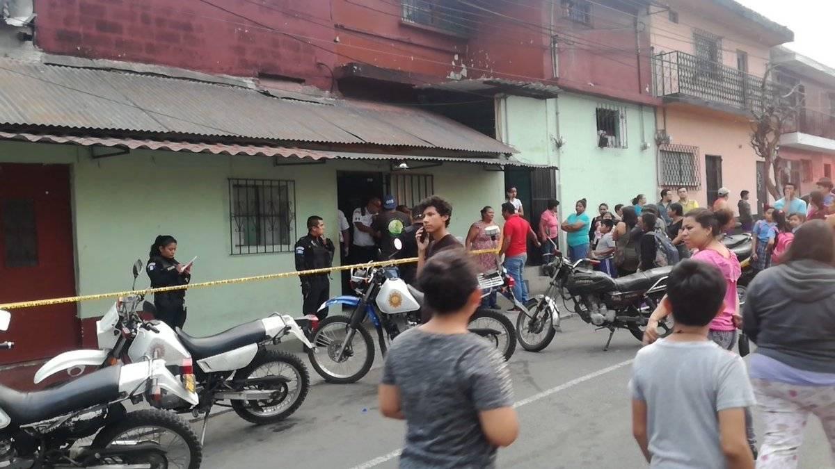 ataque armado en zona 18 deja tres muertos y un herido