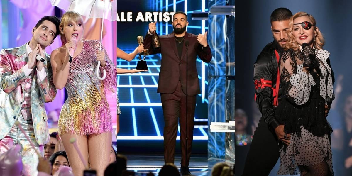 Com performance milionária de Madonna, Billboard Music Awards 2019 entrega 12 prêmios a Drake