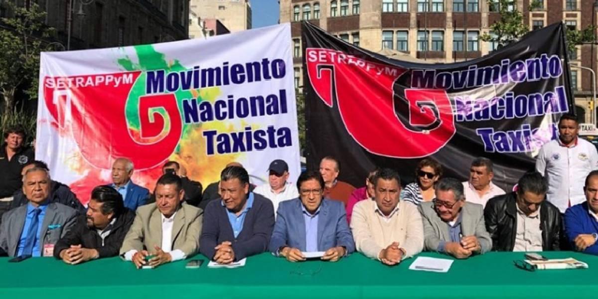 Taxistas de la CDMX amenazan con macro bloqueo si no se cobran más impuestos a Uber y otras apps