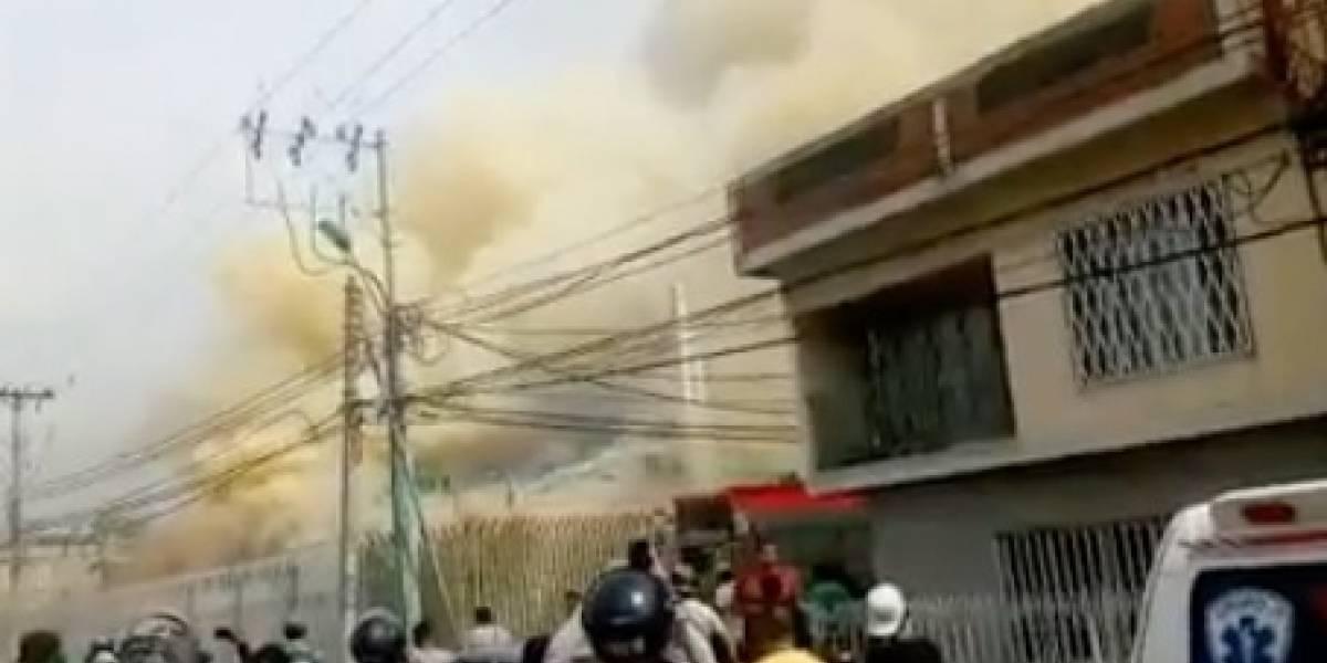Iglesia cristiana fue consumida por un voraz incendio