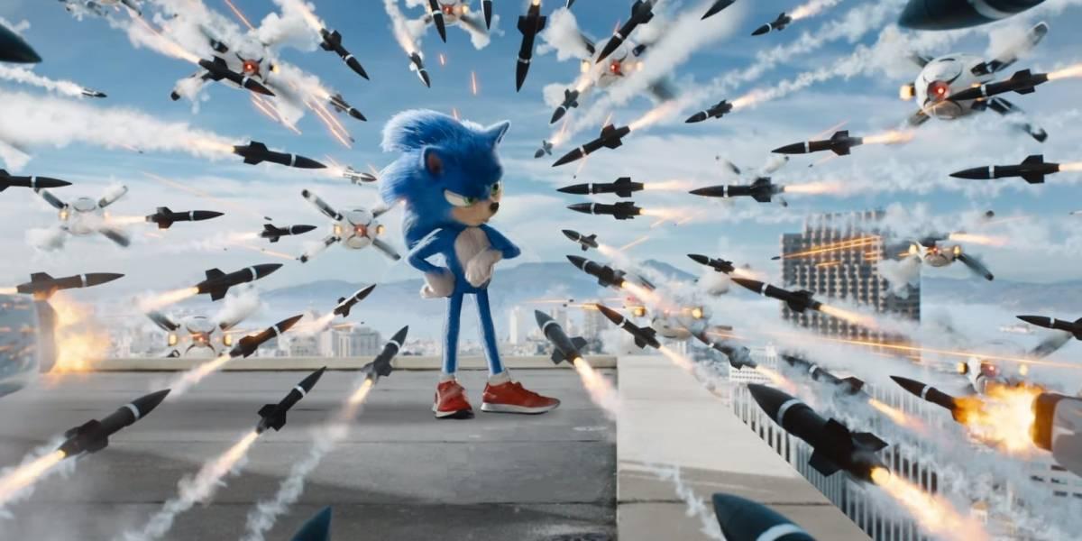 """Un artista """"arregló"""" al Sonic de la nueva película y se hizo viral"""
