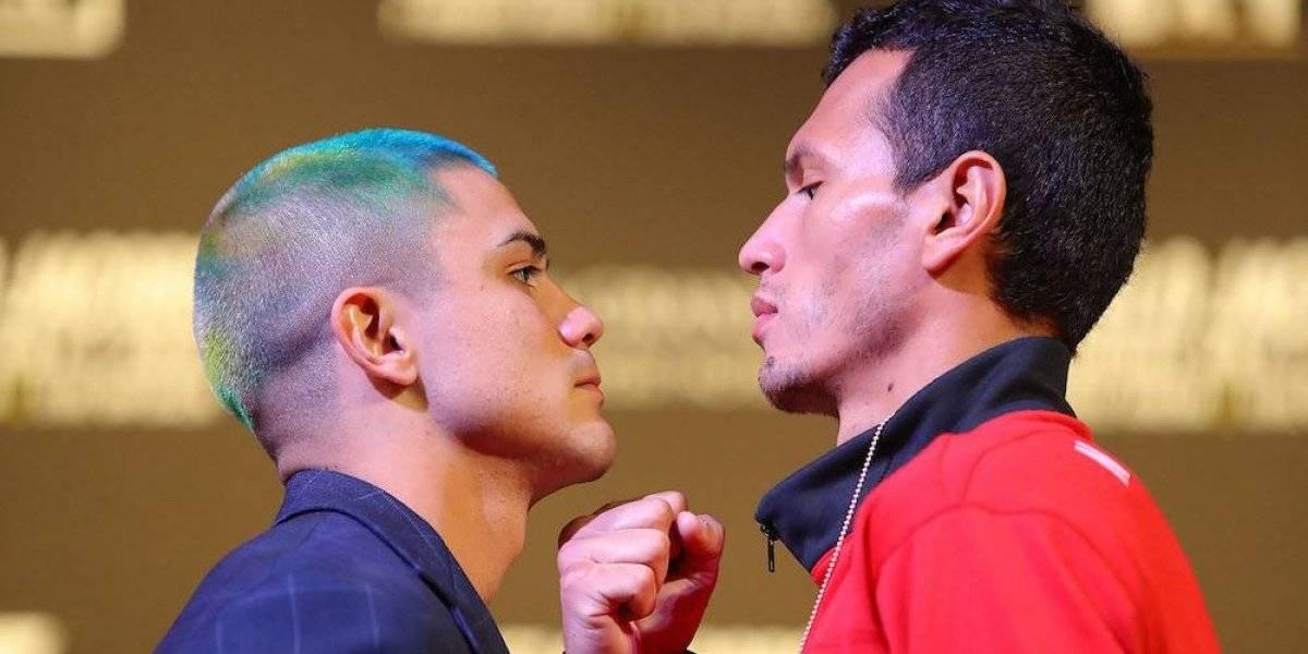 Se encienden los ánimos entre peleadores de respaldo de Canelo-Jacobs