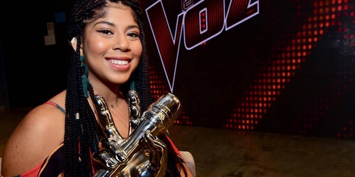 Con metas claras Jeidimar Rijos, ganadora de La Voz