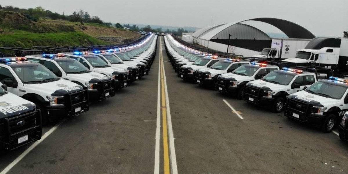 Cuitláhuac García invierte más de 200 mdp en equipo para policía de Veracruz