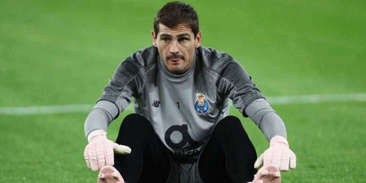 En Porto aseguran que es muy difícil que Iker Casillas vuelva a jugar tras sufrir infarto
