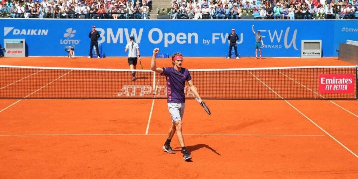 """Alexander Zverev, el futuro rey del tenis mundial que busca """"revancha"""" ante Garin en Munich"""
