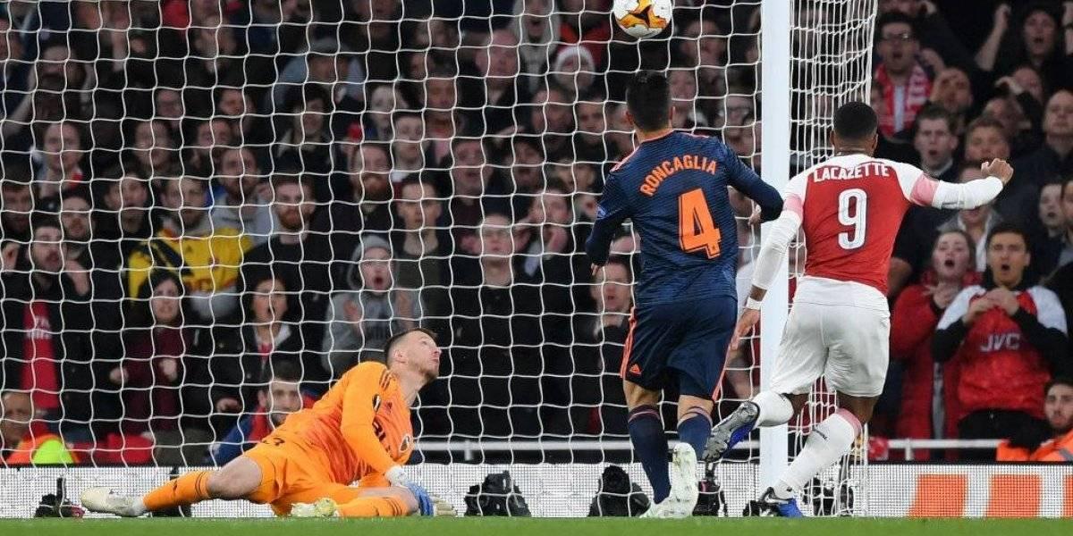 Sonríe sin Alexis: Arsenal quedó a un paso de la final de la Europa League tras derrotar a Valencia