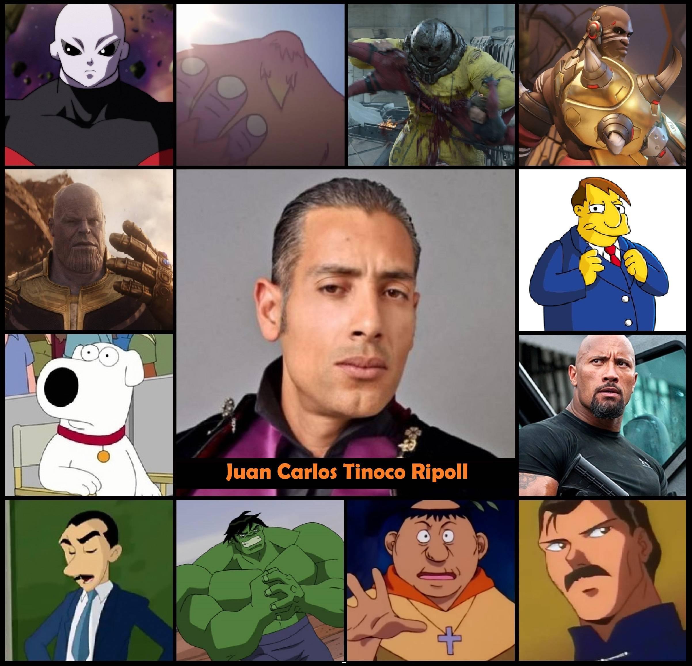 Él es Juan Carlos Tinoco, el colombiano que le dio su voz a Thanos en las películas de Marvel