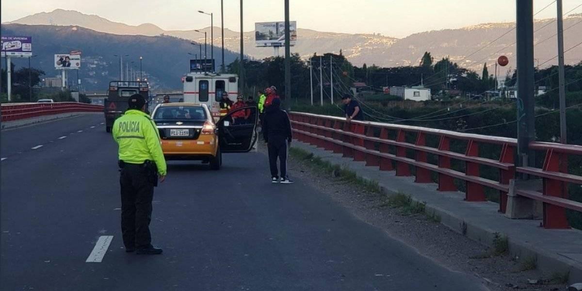 Puente del Chiche: Hombre intentó suicidarse
