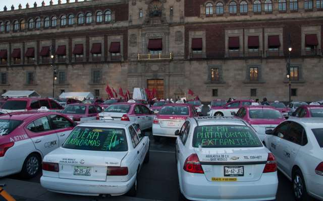 CDMX taxistas