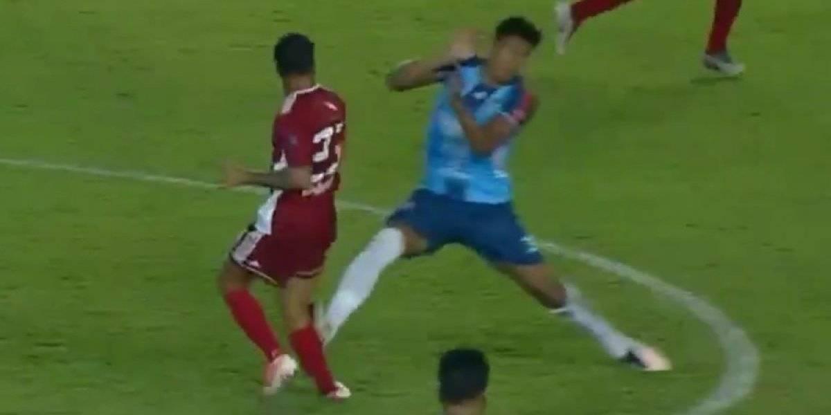 La terrible lesión que sufrió el futbolista Mateo Zoch