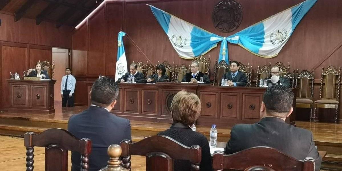 Nineth Montenegro defiende su derecho a antejuicio en la Corte de Constitucionalidad