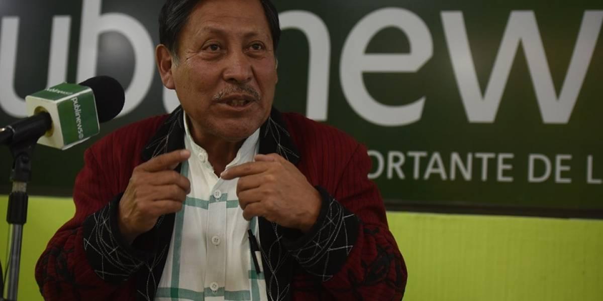 El 10 del candidato: Pablo Ceto, del partido URNG-Maíz