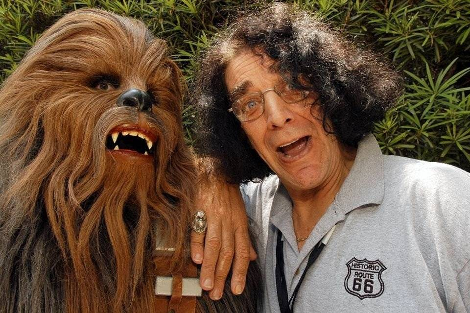 Fallece Peter Mayhew, el actor de Chewbacca en Star Wars