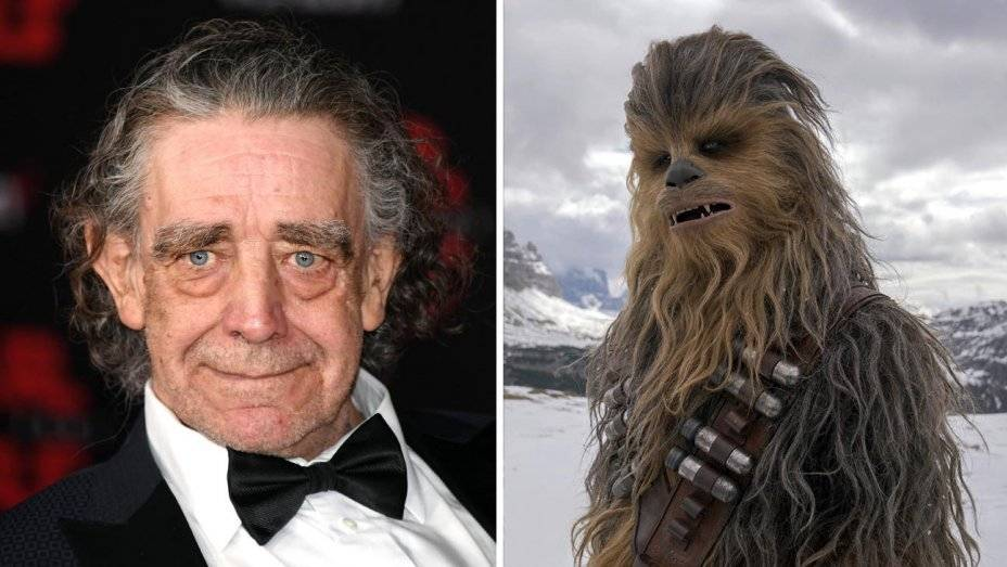 Peter Mayhew interpretó a Chewbacca en la serie Star Wars. Foto: AFP