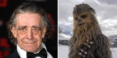 Peter Mayhew interpretó a Chewbacca en la serie Star Wars.