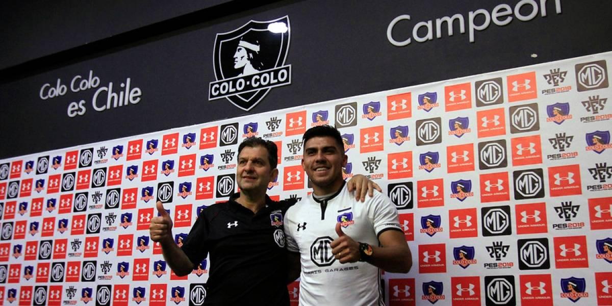 """El millonario problema que """"heredó"""" Mosa en Colo Colo por culpa de César Pinares"""