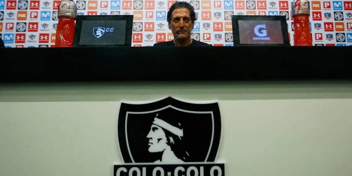 """Mario Salas no renuncia a sus ideas en Colo Colo: """"No voy a cambiar mis principios ni mis convicciones"""""""