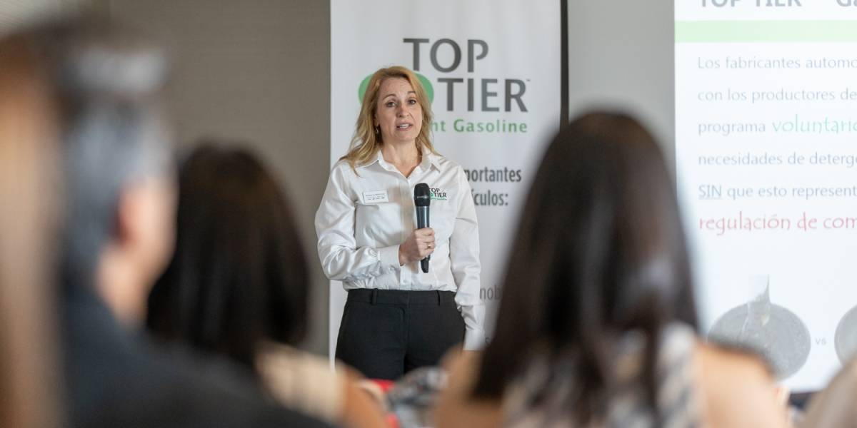 Presentan programa voluntario de certificación de combustible TOP TIER